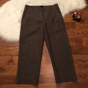 Eileen Fisher Philosophical wool capri pants Sz S